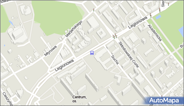 Przystanek LEGIONOWA/SZKOŁA. BKM - Białystok (id 181) na mapie Targeo