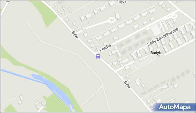 Przystanek Lercha 02. ZTM Warszawa - Warszawa (id 315302) na mapie Targeo