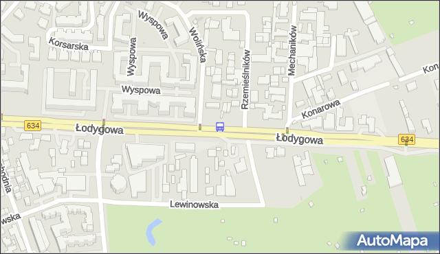 Przystanek Lewinów 01. ZTM Warszawa - Warszawa (id 106401) na mapie Targeo