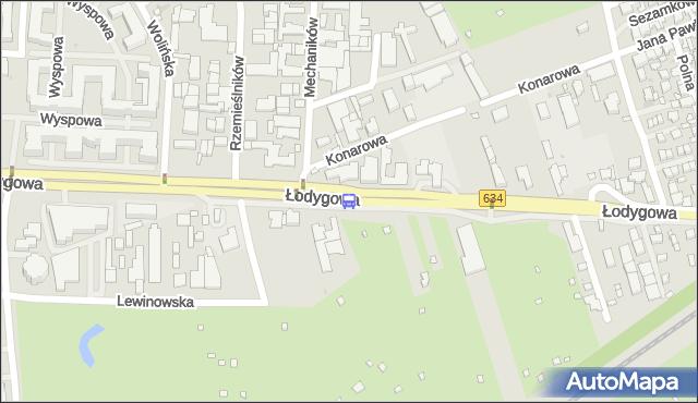 Przystanek Lewinów 02. ZTM Warszawa - Warszawa (id 106402) na mapie Targeo