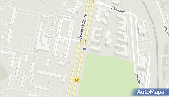 Przystanek Leżajska 02. ZTM Warszawa - Warszawa (id 403602) na mapie Targeo