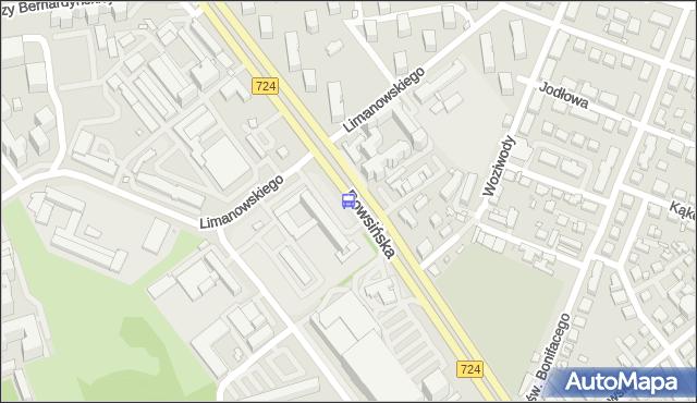 Przystanek Limanowskiego 01. ZTM Warszawa - Warszawa (id 306301) na mapie Targeo