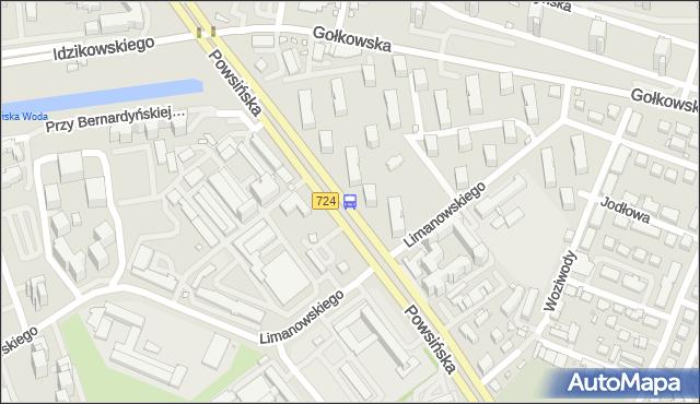 Przystanek Limanowskiego 02. ZTM Warszawa - Warszawa (id 306302) na mapie Targeo