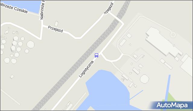 Przystanek Logistyczna 11. ZDiTM Szczecin - Szczecin (id 62711) na mapie Targeo