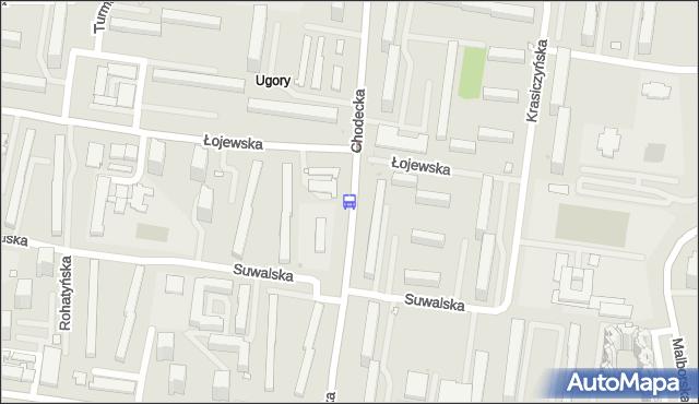 Przystanek Łojewska 01. ZTM Warszawa - Warszawa (id 115301) na mapie Targeo