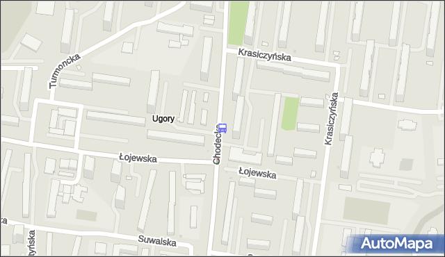 Przystanek Łojewska 02. ZTM Warszawa - Warszawa (id 115302) na mapie Targeo