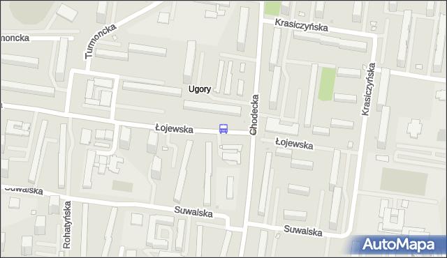 Przystanek Łojewska 03. ZTM Warszawa - Warszawa (id 115303) na mapie Targeo