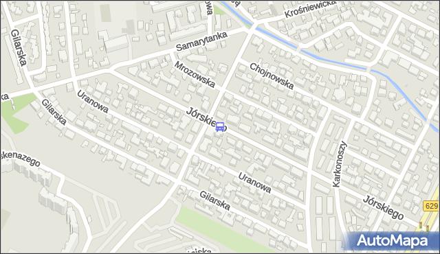 Przystanek Łokietka 01. ZTM Warszawa - Warszawa (id 117701) na mapie Targeo