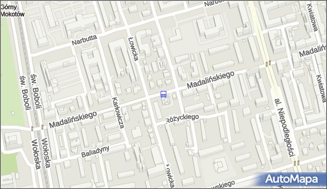 Przystanek Łowicka 01. ZTM Warszawa - Warszawa (id 312501) na mapie Targeo