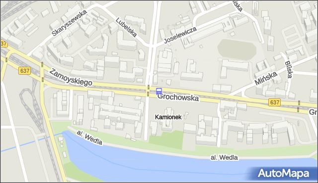Przystanek Lubelska 03. ZTM Warszawa - Warszawa (id 200203) na mapie Targeo