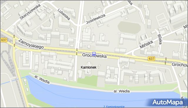 Przystanek Lubelska 04. ZTM Warszawa - Warszawa (id 200204) na mapie Targeo
