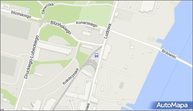 Przystanek Ludowa 31. ZDiTM Szczecin - Szczecin (id 16031) na mapie Targeo