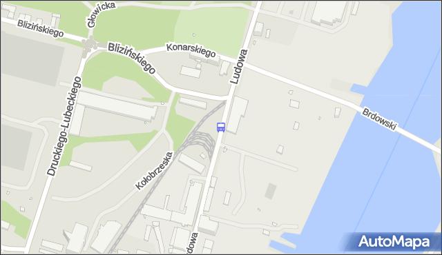 Przystanek Ludowa 41. ZDiTM Szczecin - Szczecin (id 16041) na mapie Targeo