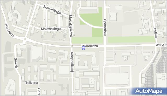 Przystanek Maklakiewicza 01. ZTM Warszawa - Warszawa (id 325901) na mapie Targeo