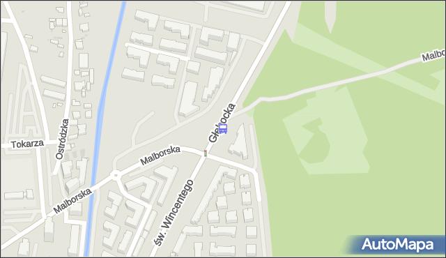 Przystanek Malborska 02. ZTM Warszawa - Warszawa (id 131902) na mapie Targeo