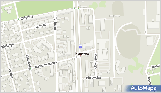 Przystanek Malczewskiego 02. ZTM Warszawa - Warszawa (id 300602) na mapie Targeo