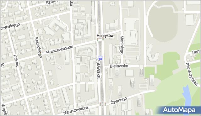 Przystanek Malczewskiego 05. ZTM Warszawa - Warszawa (id 300605) na mapie Targeo