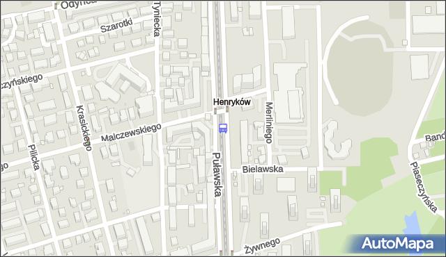 Przystanek Malczewskiego 06. ZTM Warszawa - Warszawa (id 300606) na mapie Targeo