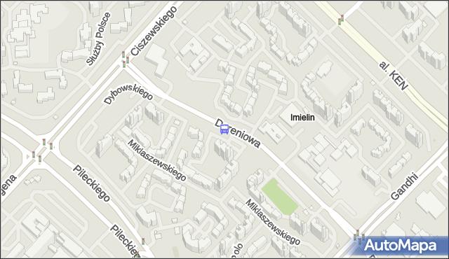 Przystanek Malinowskiego 01. ZTM Warszawa - Warszawa (id 330101) na mapie Targeo