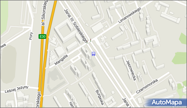 Przystanek Mangalia 01. ZTM Warszawa - Warszawa (id 303101) na mapie Targeo