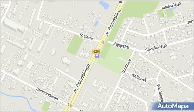 Przystanek Marki-Ratusz 02. ZTM Warszawa - Warszawa (id 123802) na mapie Targeo