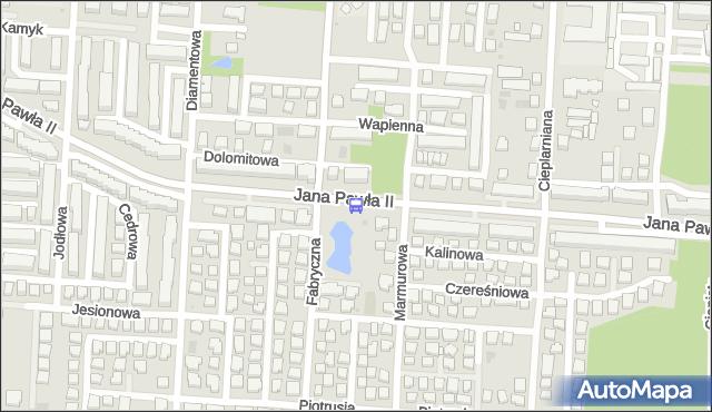 Przystanek Marmurowa 02. ZTM Warszawa - Warszawa (id 234702) na mapie Targeo