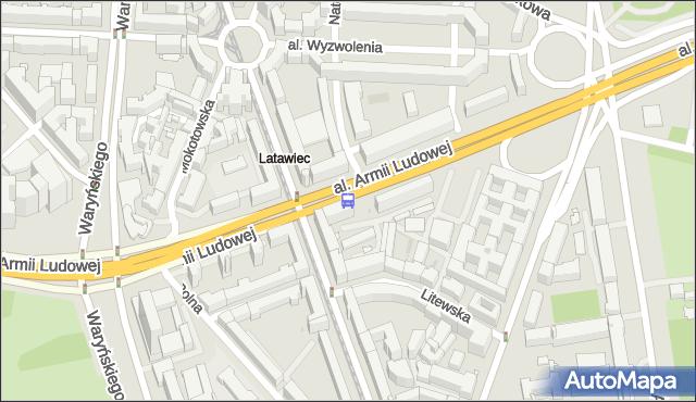 Przystanek Marszałkowska 01. ZTM Warszawa - Warszawa (id 700901) na mapie Targeo