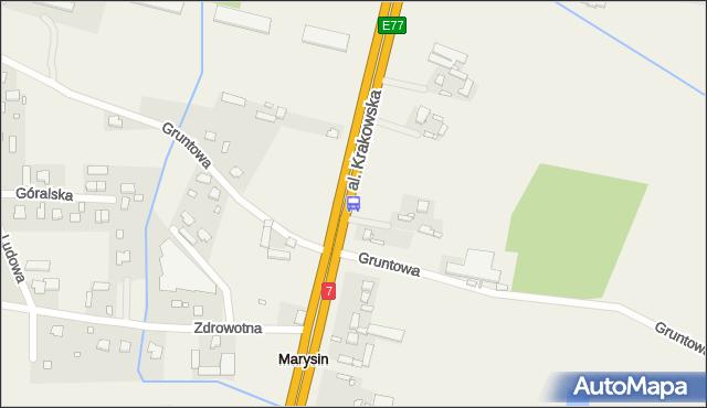 Przystanek Marysin 01. ZTM Warszawa - Warszawa (id 407201) na mapie Targeo
