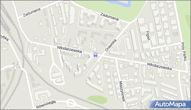 Przystanek Maszynowa 01. ZTM Warszawa - Warszawa (id 431201) na mapie Targeo