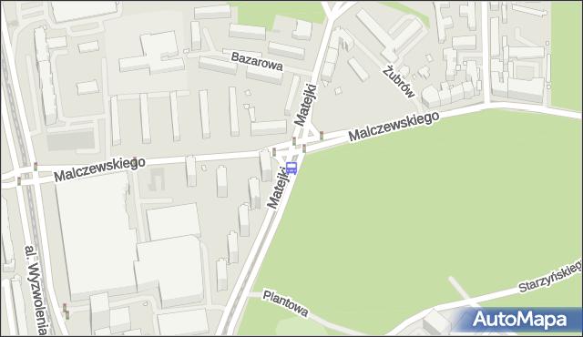 Przystanek Matejki 32. ZDiTM Szczecin - Szczecin (id 13132) na mapie Targeo