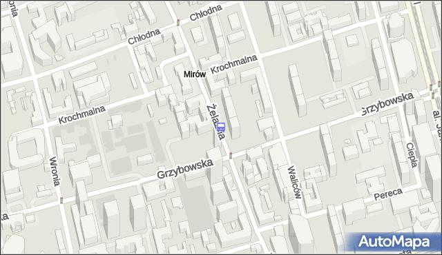 Przystanek Mennica 04. ZTM Warszawa - Warszawa (id 503604) na mapie Targeo