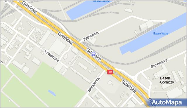 Przystanek Merkatora nż 11. ZDiTM Szczecin - Szczecin (id 60411) na mapie Targeo