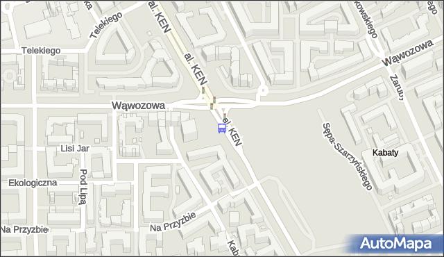 Przystanek Metro Kabaty 02. ZTM Warszawa - Warszawa (id 328202) na mapie Targeo