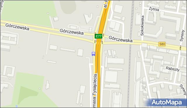 Przystanek Metro Młynów 03. ZTM Warszawa - Warszawa (id 502803) na mapie Targeo