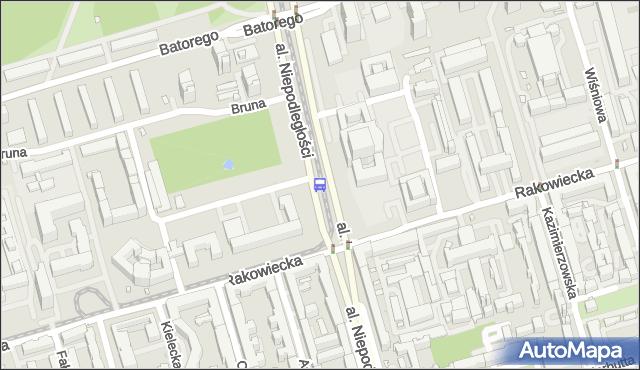 Przystanek Metro Pole Mokotowskie 03. ZTM Warszawa - Warszawa (id 322803) na mapie Targeo