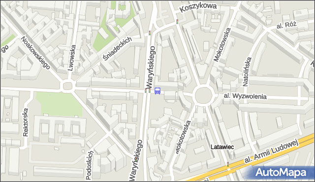 Przystanek Metro Politechnika 04. ZTM Warszawa - Warszawa (id 700604) na mapie Targeo
