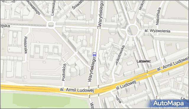 Przystanek Metro Politechnika 05. ZTM Warszawa - Warszawa (id 700605) na mapie Targeo