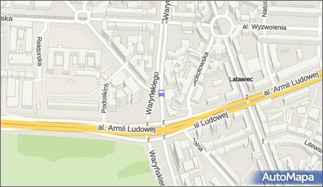 Przystanek Metro Politechnika 08. ZTM Warszawa - Warszawa (id 700608) na mapie Targeo