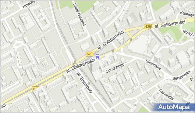 Przystanek Metro Ratusz-Arsenał 09. ZTM Warszawa - Warszawa (id 709909) na mapie Targeo