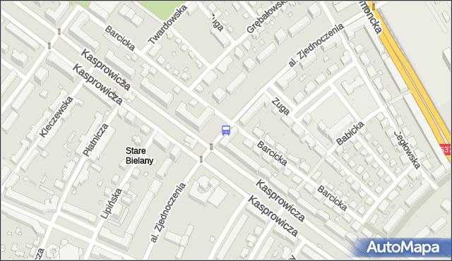 Przystanek Metro Stare Bielany 04. ZTM Warszawa - Warszawa (id 605204) na mapie Targeo