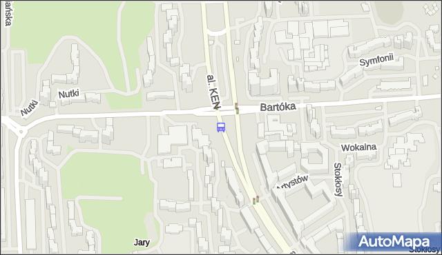 Przystanek Metro Ursynów 01. ZTM Warszawa - Warszawa (id 312701) na mapie Targeo