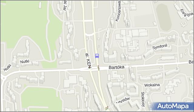 Przystanek Metro Ursynów 02. ZTM Warszawa - Warszawa (id 312702) na mapie Targeo