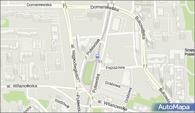 Przystanek Metro Wilanowska 05. ZTM Warszawa - Warszawa (id 300905) na mapie Targeo