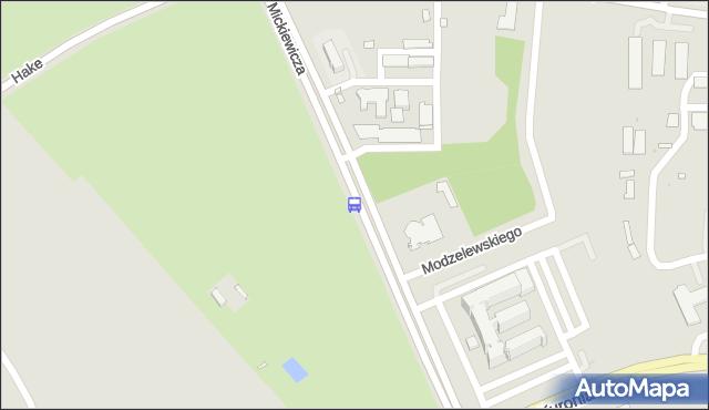 Przystanek Mickiewicza/Liceum. BKM - Białystok (id 246) na mapie Targeo