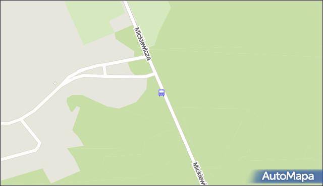 Przystanek Mickiewicza/Ogródki Działkowe. BKM - Białystok (id 700) na mapie Targeo