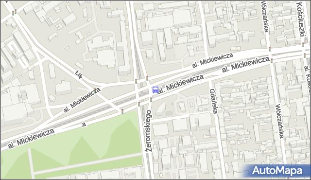 Przystanek Mickiewicza - Żeromskiego. MPKLodz - Łódź (id 570) na mapie Targeo