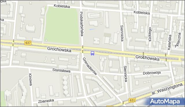 Przystanek Międzyborska 02. ZTM Warszawa - Warszawa (id 200602) na mapie Targeo