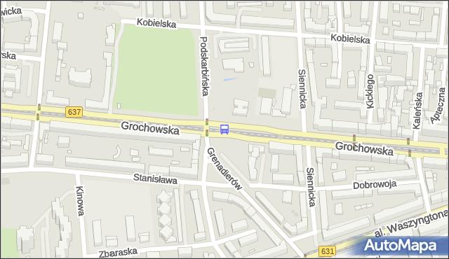 Przystanek Międzyborska 03. ZTM Warszawa - Warszawa (id 200603) na mapie Targeo