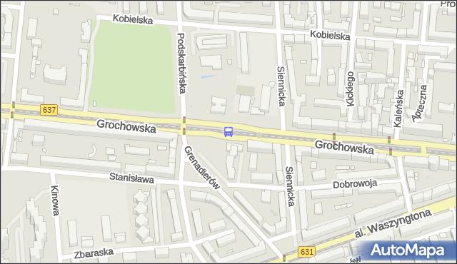 Przystanek Międzyborska 04. ZTM Warszawa - Warszawa (id 200604) na mapie Targeo