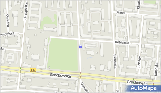 Przystanek Międzyborska 06. ZTM Warszawa - Warszawa (id 200606) na mapie Targeo